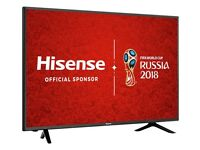 Hisense H50N5300 50 Inch 4K Ultra HD Smart Wifi LED TV with Guarantee (Only few months old)
