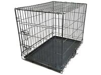 Medium Dog Cage - (The One From Argos But This Includes The Mat)