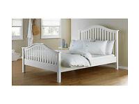 Newbridge Double Bed Frame - White