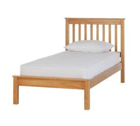 Children's Aspley Single Bed Frame - Pine