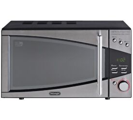 De'Longhi 800W Standard Microwave P80T5A - Stainless Steel