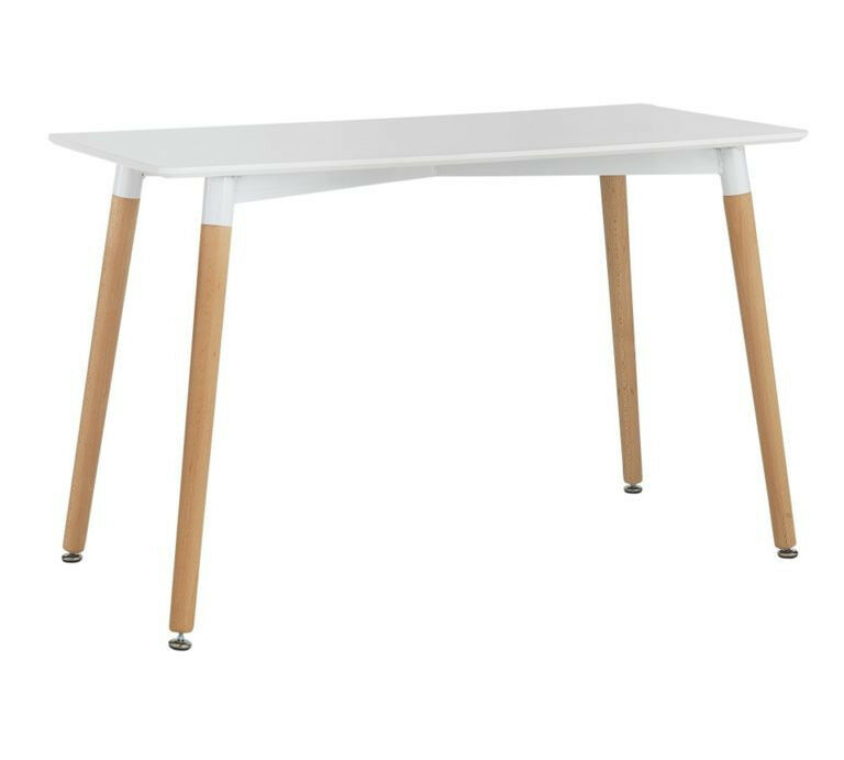 Hygena Charlie 120cm Dining Table - White