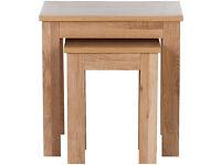 Schreiber Harbury Nest of Tables - Oak