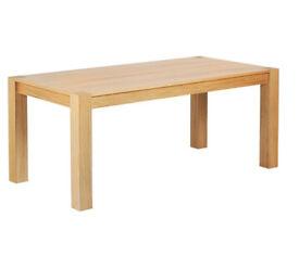 Heart of House Alston 180cm Real Oak Veneer Dining Table