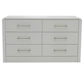Heart of House Elford 6 Drawer Chest — White