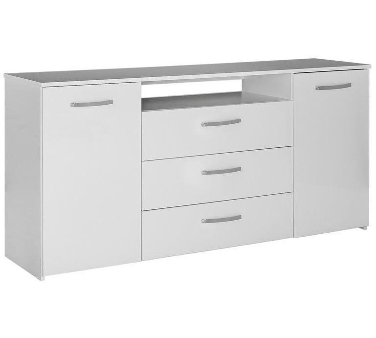 Hygena Hayward Large Sideboard - White