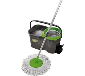 New & Boxed-JML Whizz Microfibre Mop and Bucket Set