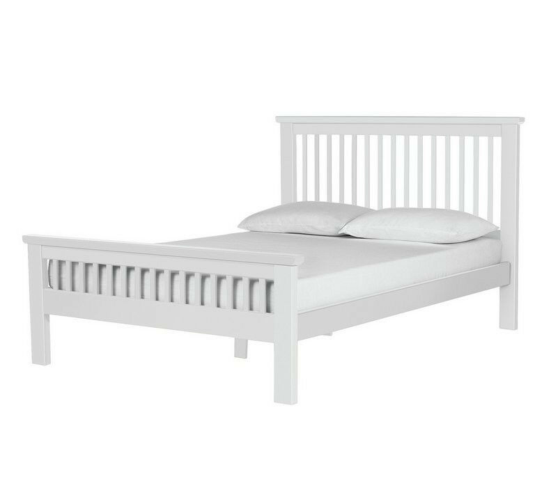 Collection Aubrey Double Bed Frame - White