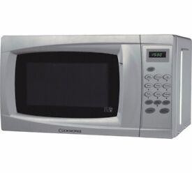 Cookworks Standard Microwave - Silver