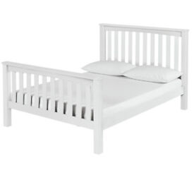 Collection Maximus White Bed Frame - Double