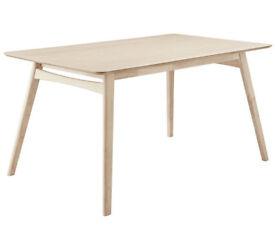 Heart of House Afina Oak Veneer 150cm Dining Table
