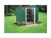 Arrow apex metal shed 6x5ft boxed & unopened
