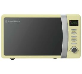 Russell 700W Standard Microwave RHMD702C - Cream