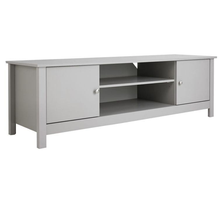 Collection Osaka 2 Door TV Unit - Grey