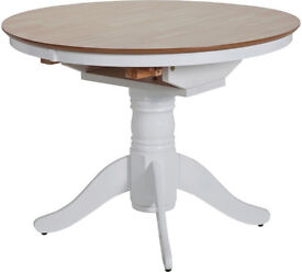 Kentucky Extendable Dining Table - Two Tone