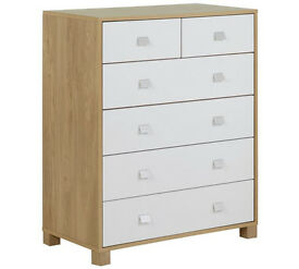 Ultimate Sleeper 4 + 2 Drawer Chest - Two Tone