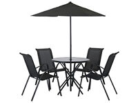 HOME Sicily 4 Seater Patio Set