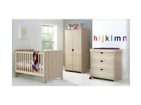 Mamas & Papas Rocco 3 Piece Furniture Set - Light Oak