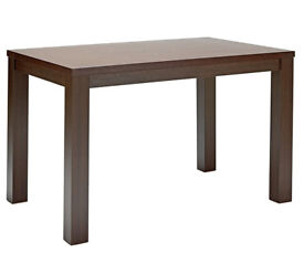 Fully assembled Pemberton Walnut Stain 150cm Dining Table