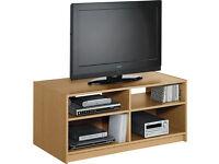 HOME Maine TV Unit - Oak Effect