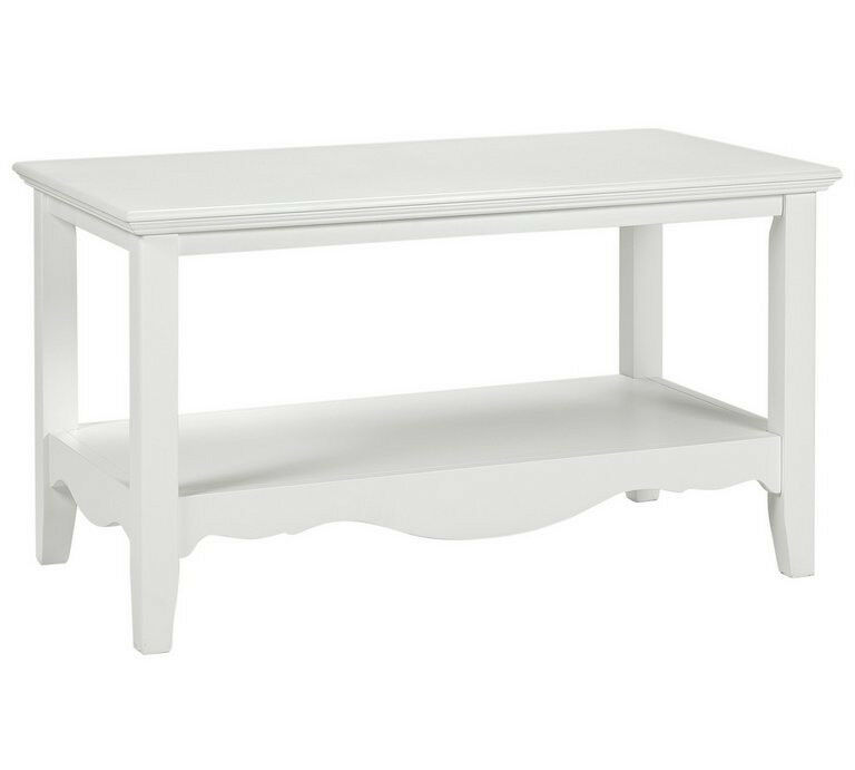 Collection Romantic Coffee Table - White