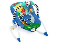 Baby Einstein musical vibrating rocker baby bouncy tchair