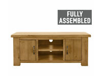 Collection Arizona 2 Door Low Sideboard TV Unit - Solid Pine