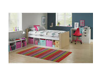 HOME Phoenix Cabin Bed Frame - Two Tone