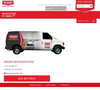 Refrigeration and air conditioning service