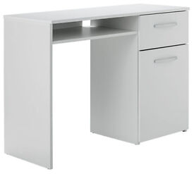 Hayward Office Desk - White Gloss
