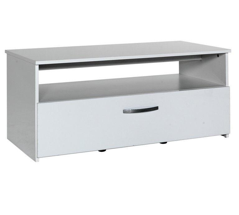 Hygena Hayward 1 Drawer 1 Shelf Coffee Table - White Gloss