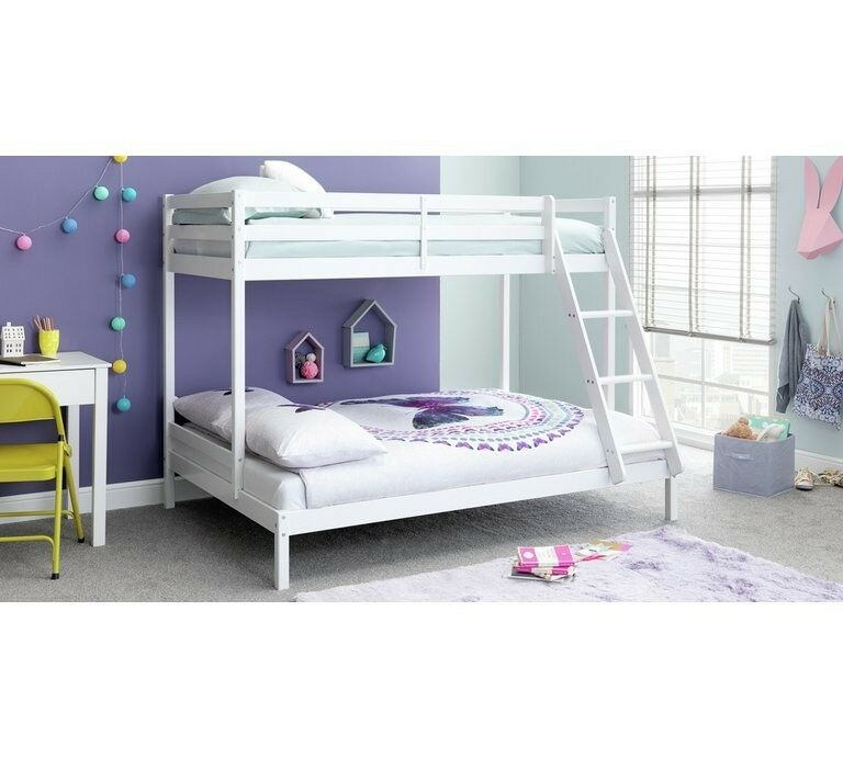 Home Wooden Triple Bunk Bed White In Aston West Midlands Gumtree