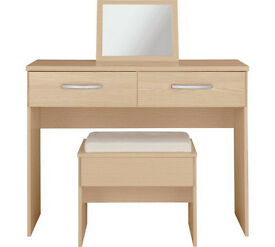 Collection New Hallingford Dressing Table - Light Oak Effect