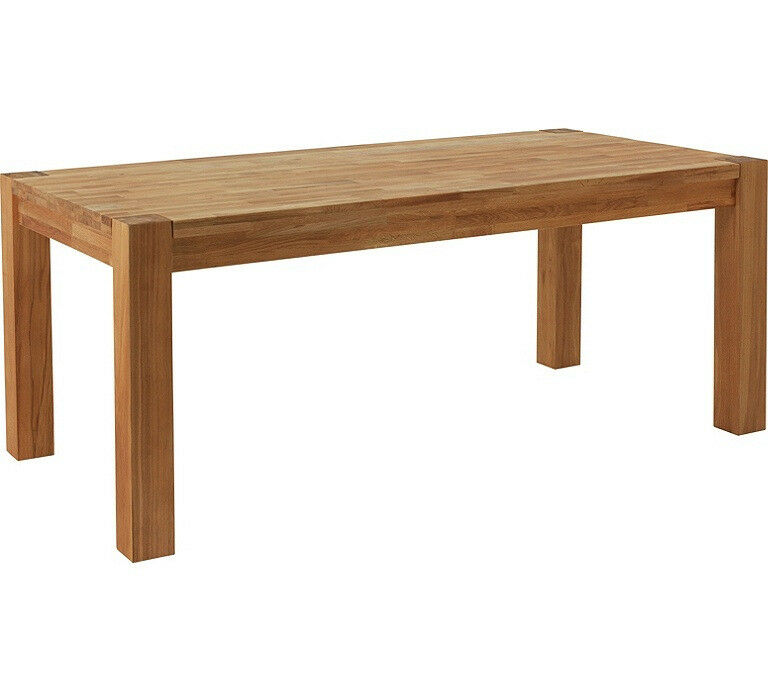 Heart of House Hadlow Solid Oak 180cm Dining Table