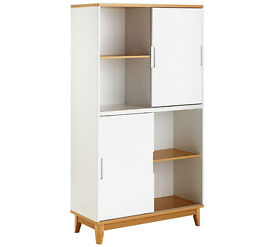 Hygena Skye Display Unit - White
