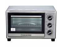 Cookworks Mini Oven - Stainless Steel