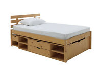 Ultimate Storage II Double Bed Frame