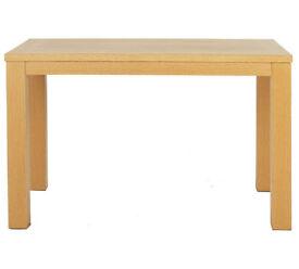 Pemberton 120cm Oak Veneer Dining Table