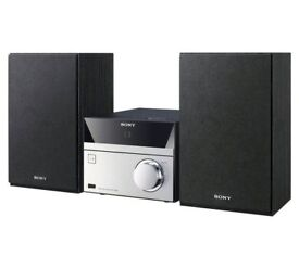 SONY MICRO HIFI WITH D A B RADIO, C D PLAYER AND USB/ BLUETOOTH MODEL NO HCD-S20B