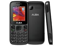 Sim Free Alba 1.8 Inch 1.8MP 32MB Mobile Phone - Black
