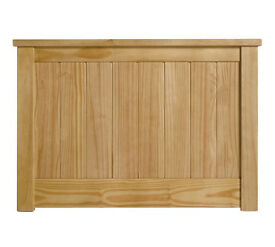 Grafton Single Headboard - Oak Stain.