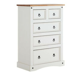 Puerto Rico 5 Drawer Chest - Two Tone Finish