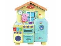 BNIB Peppa Pig House Kitchen - £40 - collect from Cromer or Thorpe St Andrew