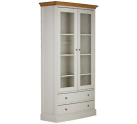 Schreiber Chalbury Display Unit - White Oak
