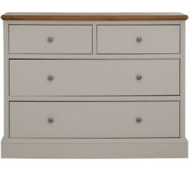 Schreiber Chalbury 2+2 Drawer Chest - Oak