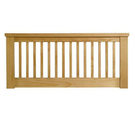 Aubrey Small Double Headboard - Oakstain