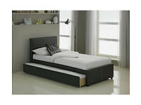 HOME Nicci Guestbed with Underbed Trundle - Black