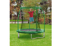 Chad Valley 6ft Trampoline and Enclosure