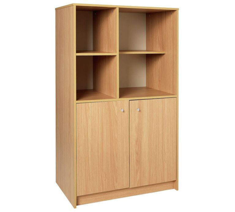 Calgary 2 Door Storage Unit - Oak