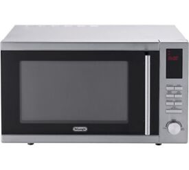 De'Longhi 900W Standard Microwave AM9 - Silver